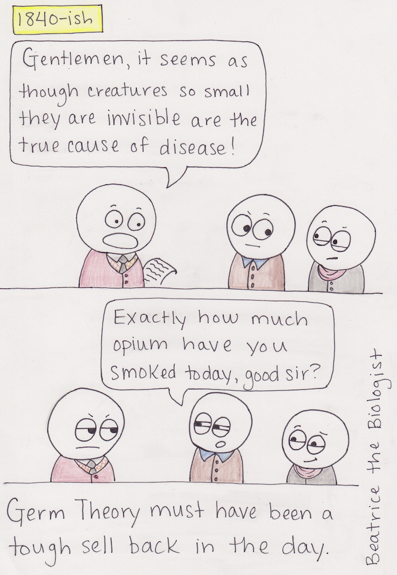 Germ Theory by Beatrice the Biologist
